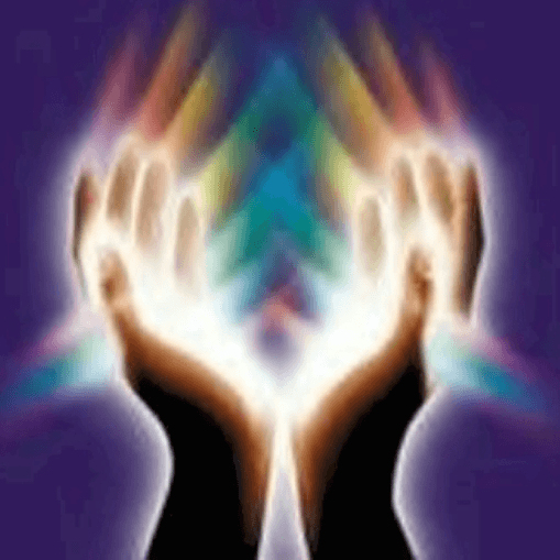 Spirit filled hands