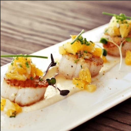 Exquisite scallop appetizer everything changed