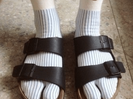 A Story of Snow, Sovereignty, and Sandals with Socks