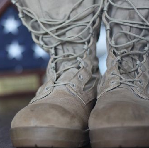 Belong to God? Put Boots on the Ground!